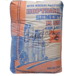 Цемент Липецкцемент М500 Д20 мешок 40кг