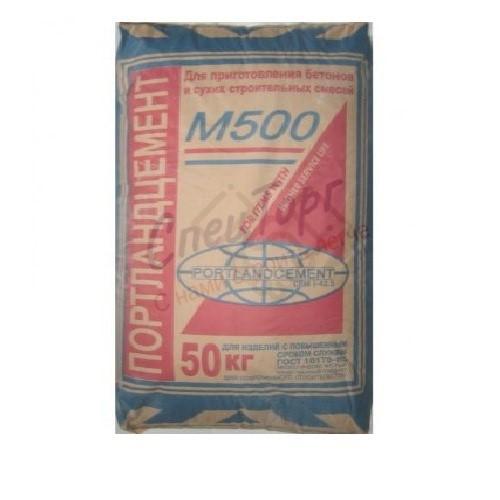Цемент Михайловцемент М500 Д20 мешок 40кг