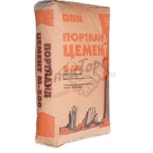 Цемент Старый Оскол М500 Д20 мешок 50кг