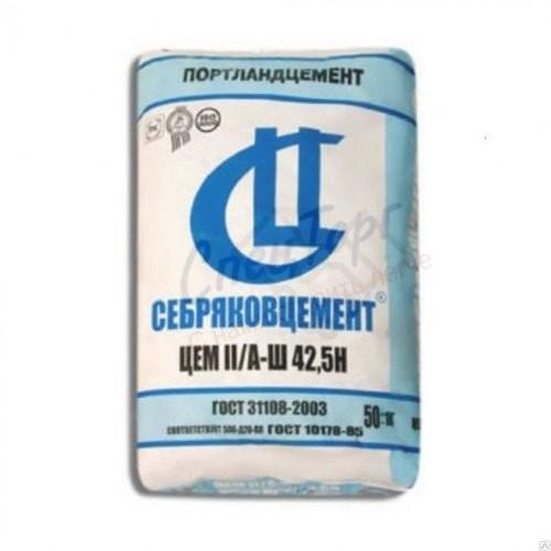 Цемент Себряковцемент М500 Д20 мешок 45кг