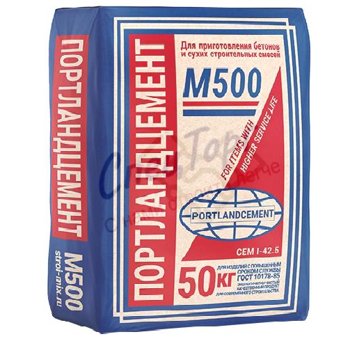 Цемент Щуровский М500 Д0 мешок 40кг