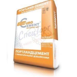 Цемент Евроцемент М500 Д0 мешок 50кг